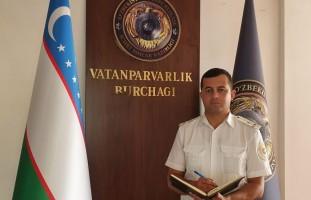 Safimizdagi fidoyilar: Katta leytenant Anvar Madirimov